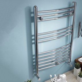 Extra Wide Curved Towel Radiator