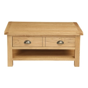 small coffee table. Sherbourne Oak Coffee Table. Loz_exclusive_to_dunelm Small Table