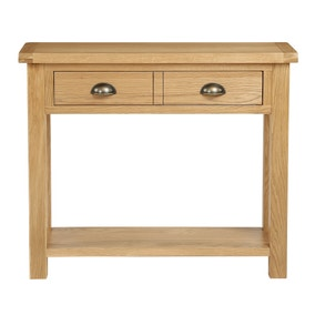 Sherbourne Oak Console Table