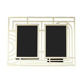 5A Fifth Avenue Gold Multi Aperture Frame