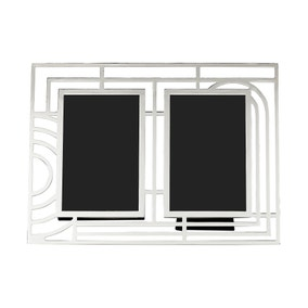 5A Fifth Avenue Silver Multi Aperture Frame
