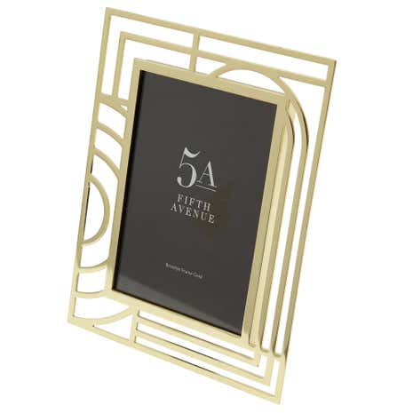 5A Fifth Avenue Gold Cut Out Frame
