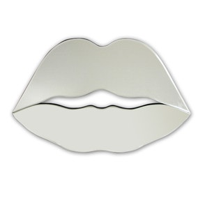 Mirrored Lips Wall Art