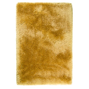 Ochre Jewel Shaggy Rug