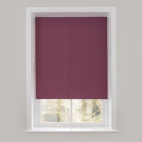 Purple Textured Thermal Roller Blind