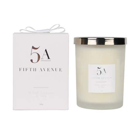 5A Fifth Avenue Jasmine and Silk Candle
