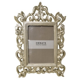 Champagne Gold Resin Photo Frame