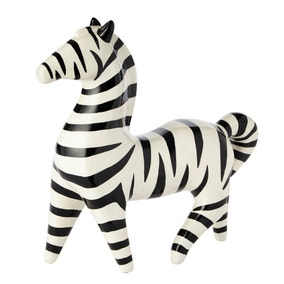 Zebra Resin Sculpture