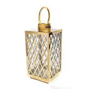 Gold Lattice Lantern