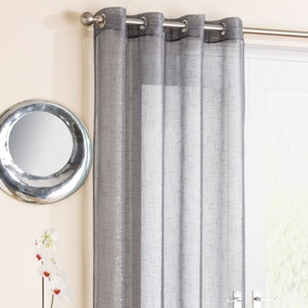 Marrakesh Grey Voile Panels