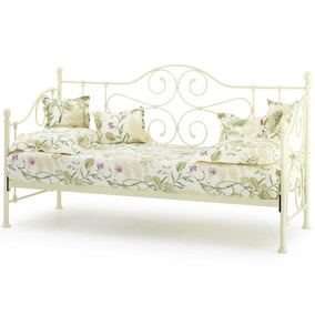 Florence Ivory Day Bed with Guest Bed
