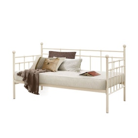 Lyon Cream Metal Day Bed