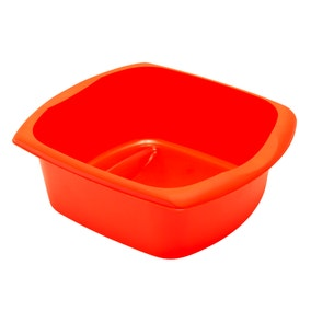 Spectrum Orange Rectangular Washing Up Bowl