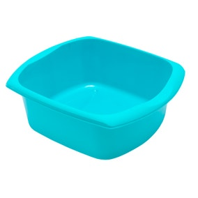Spectrum Teal Rectangular Washing Up Bowl