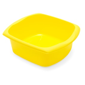 Spectrum Yellow Rectangular Washing Up Bowl