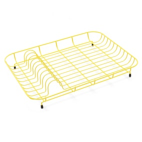 Spectrum Yellow Wire Plate Rack