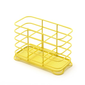 Spectrum Yellow Wire Cutlery Holder