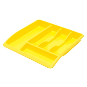 Spectrum Yellow Drawer Organiser