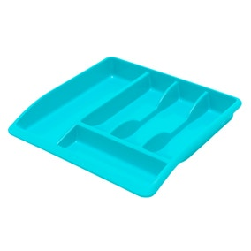 Spectrum Teal Drawer Organiser