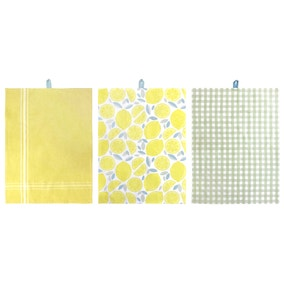 Candy Rose Pack of 3 Tea Towels