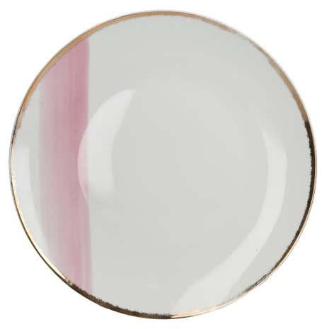 Blush Pink and Gold Dinner Plate  sc 1 st  Dunelm & Blush Pink and Gold Dinner Plate   Dunelm