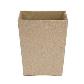 Bathroom bins small pedal bins dunelm for Gold bathroom bin
