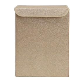 Gold Glitter Laundry Hamper
