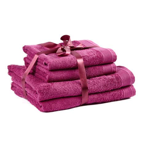 4 Piece Wine Towel Bale