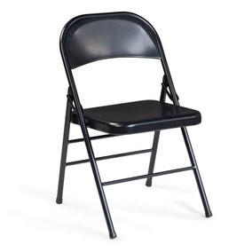 Black Orlando Folding Chair