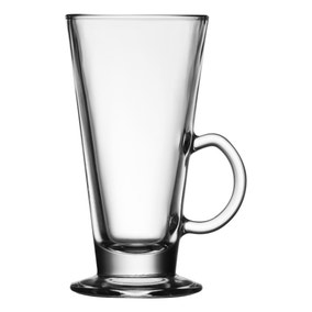 Latte Glass 10oz Clear