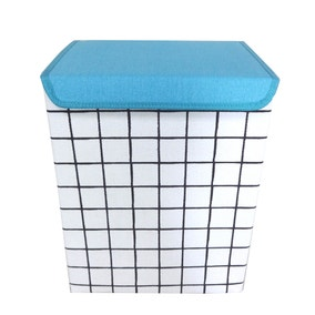 Grid Laundry Hamper
