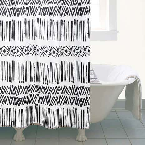 Elements Tribe Shower Curtain