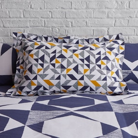 Elements Jaxson Navy Oxford Pillowcase
