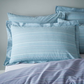 Joseph Reversible Striped Duvet Cover and Pillowcase Set
