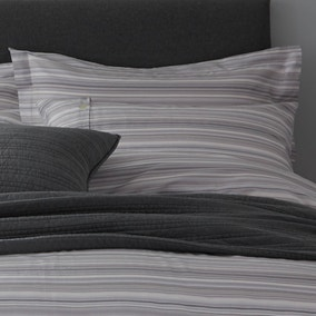 Elements Parker Woven Grey Oxford Pillowcase