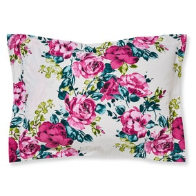 Florrie Pink Oxford Pillowcase