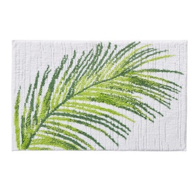 Tropical Leaf Bath Mat