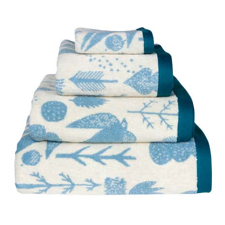 Donna Wilson Bird Tree Cream Hand Towel