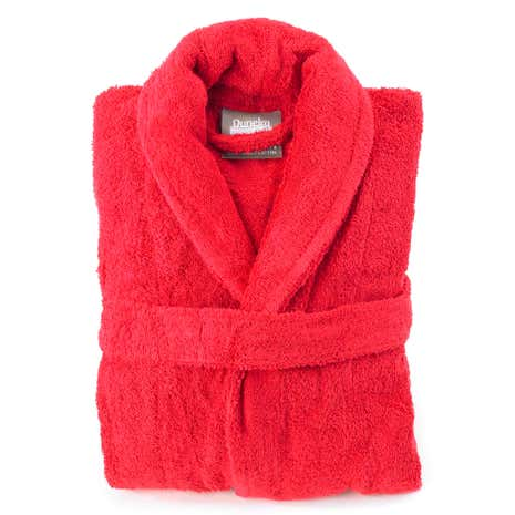 Egyptian Cotton Red Dressing Gown