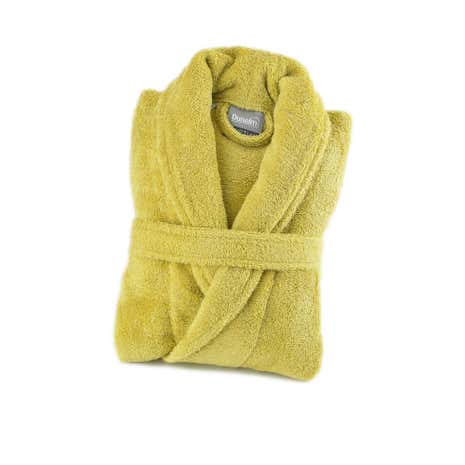 Egyptian Cotton Ochre Dressing Gown