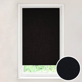 Solar Black Blackout Roller Blind