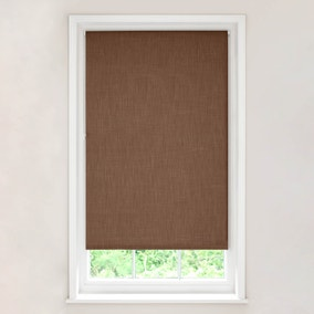 Solar Chocolate Blackout Roller Blind