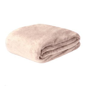 Seriously Soft Mushroom Throw