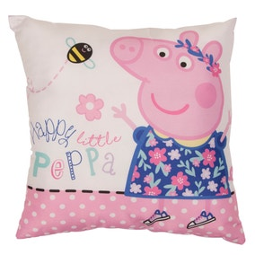 Peppa Pig Happy Square Cushion