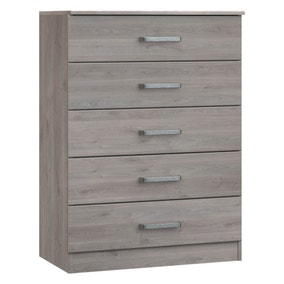 Minnesota Grey 5 Drawer Chest