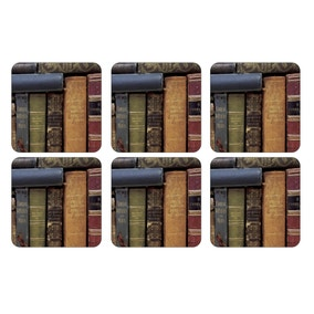 Pimpernel by Portmeirion Archive Books Pack of 6 Coasters