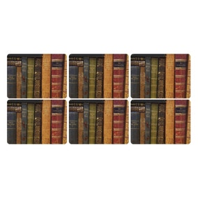 Pimpernel by Portmeirion Archive Books Pack of 6 Placemats