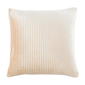 5A Fifth Avenue Cream Velvet Pleat Cushion