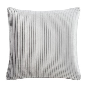 5A Fifth Avenue Grey Velvet Pleat Cushion