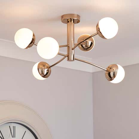 5A Fifth Avenue Verden Sphere 6 Light Fitting